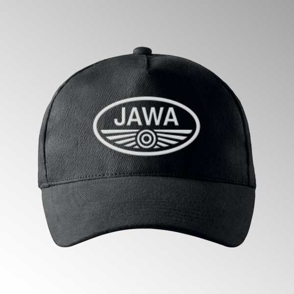 Čepice JAWA s potiskem