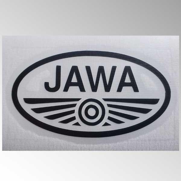 Samolepka JAWA řezaná