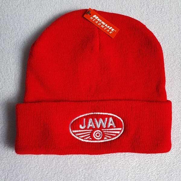 pletená čepice Jawa
